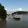 Árvíz 2013 június, Budapest - Láchídról a Duna