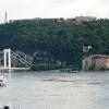 Árvíz 2013 június, Budapest - Lánchídról az Erzsébet híd