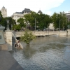 Árvíz 2013 június, Budapest Lánchíd Pesti hídfő