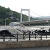 Árvíz 2013 június, Budapest - Erzsébet híd
