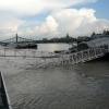 Árvíz 2013 június, Budapest - Nemzetközi hajóállomás
