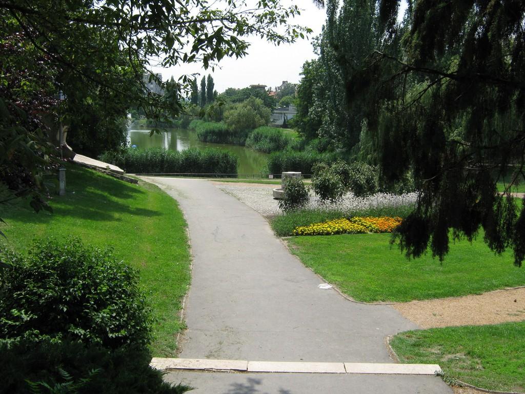 Séta a parkban
